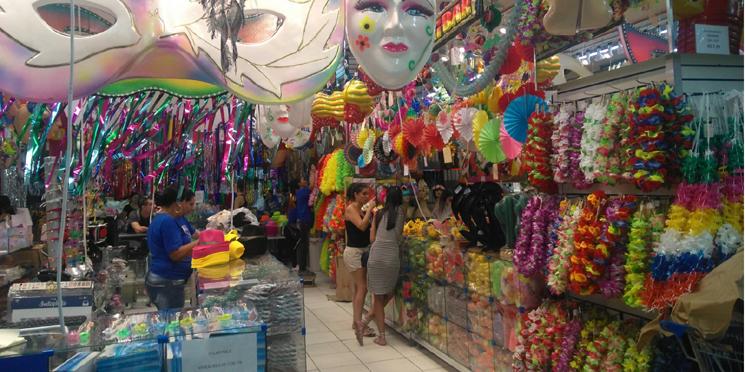 Carnaval puxa o ritmo das vendas no comércio paulistano